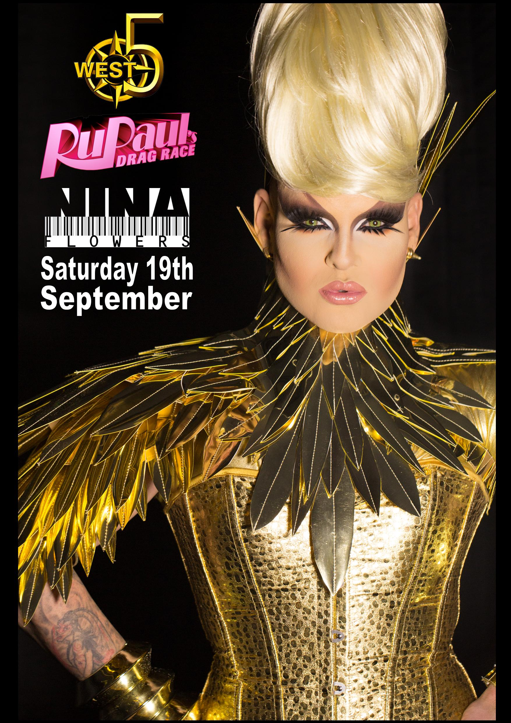 Nina Flowers Performing WEST 5 BAR London UK Sep 19 2015
